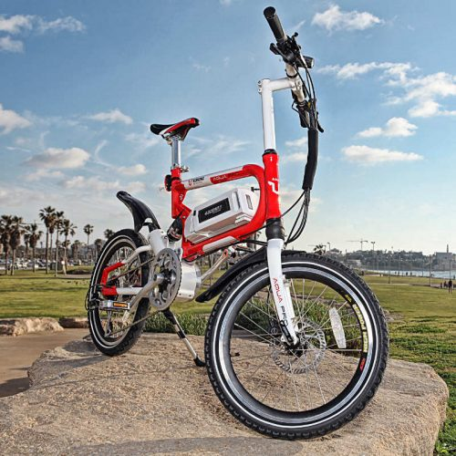 אופניים חשמליים ספורטיביים